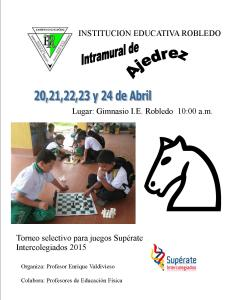 pancarta ajedrez